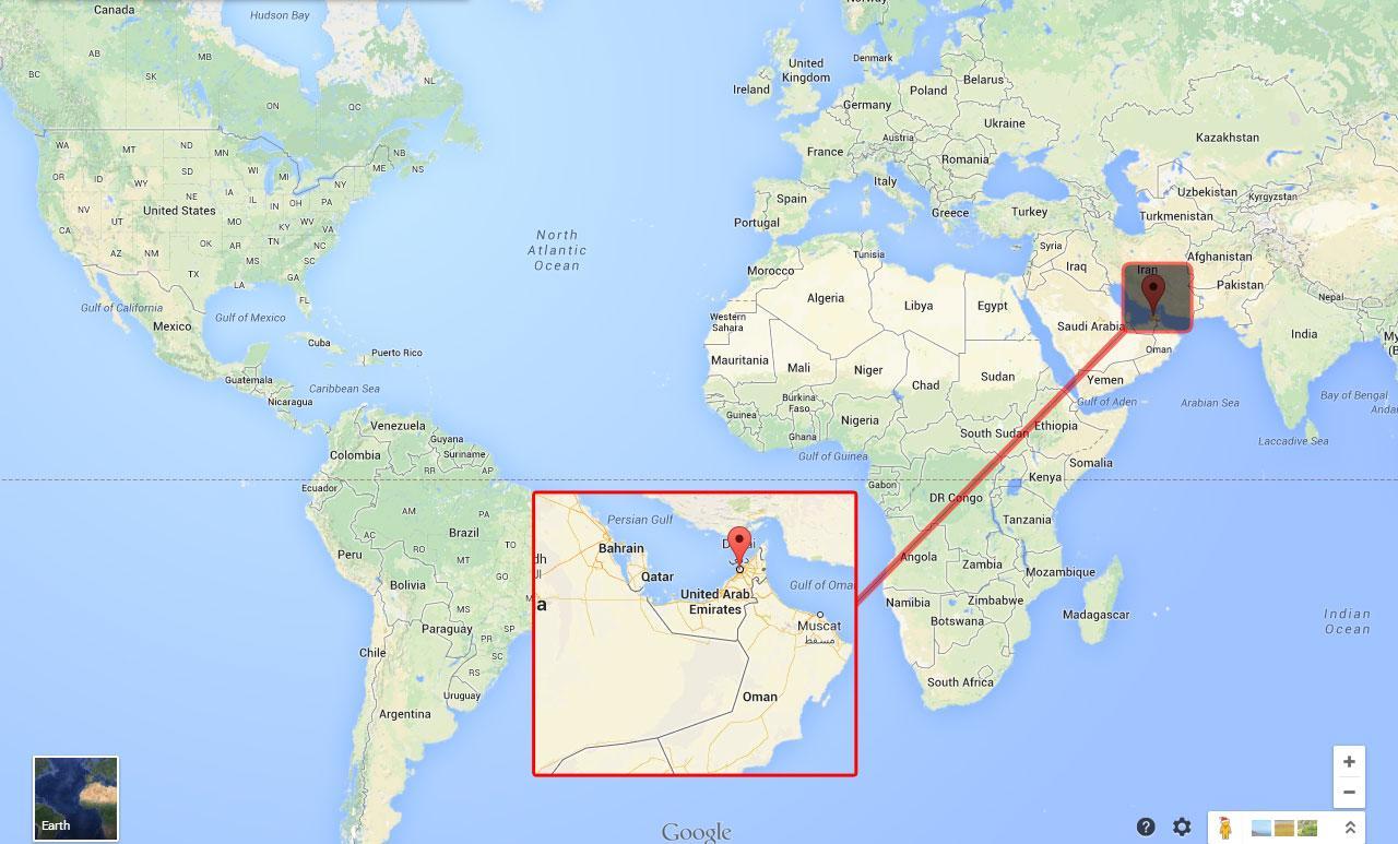 Дубай показать на карте мира купить офис в ллорет де мар