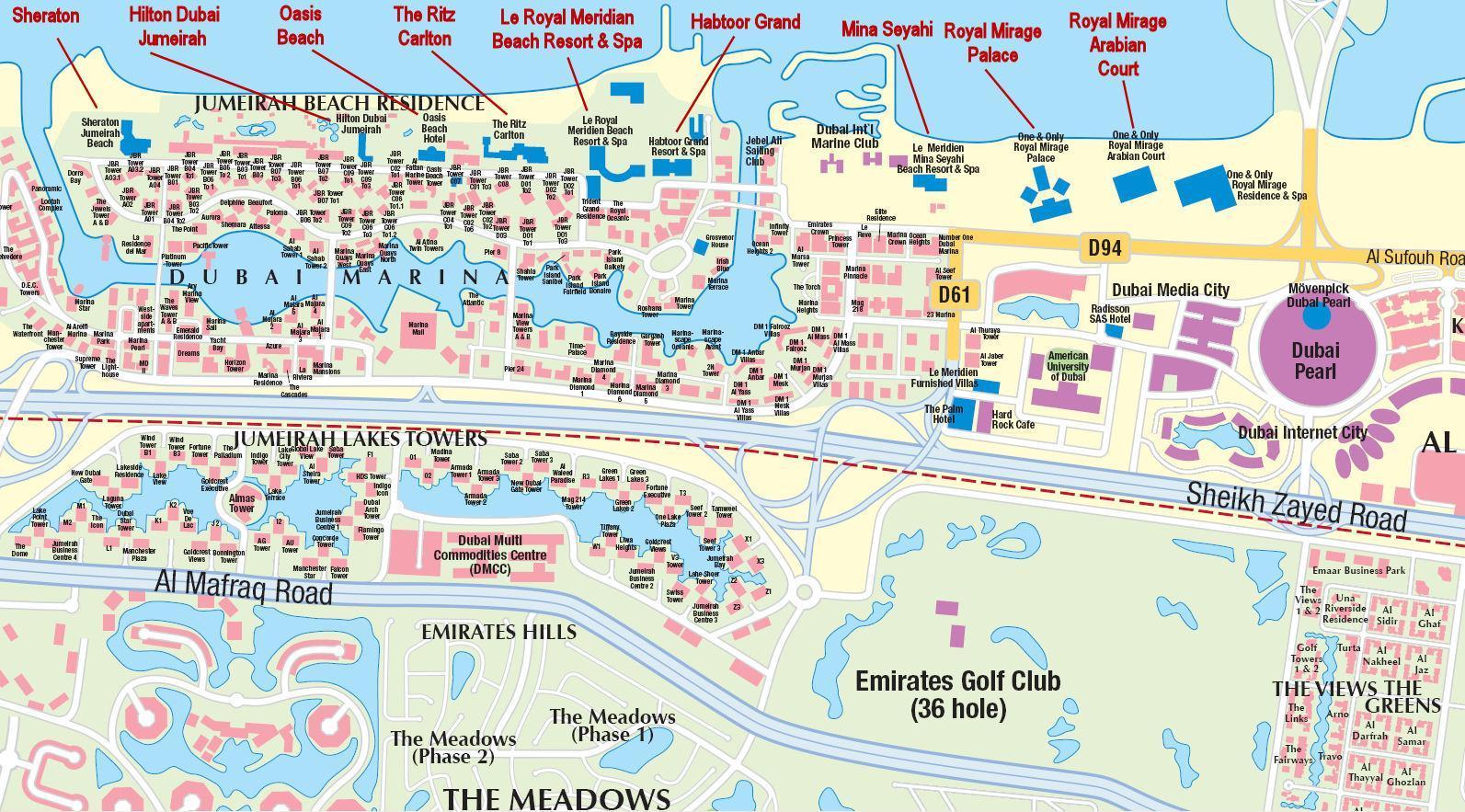 Дубай марина на карте лонг айленд купить недвижимость