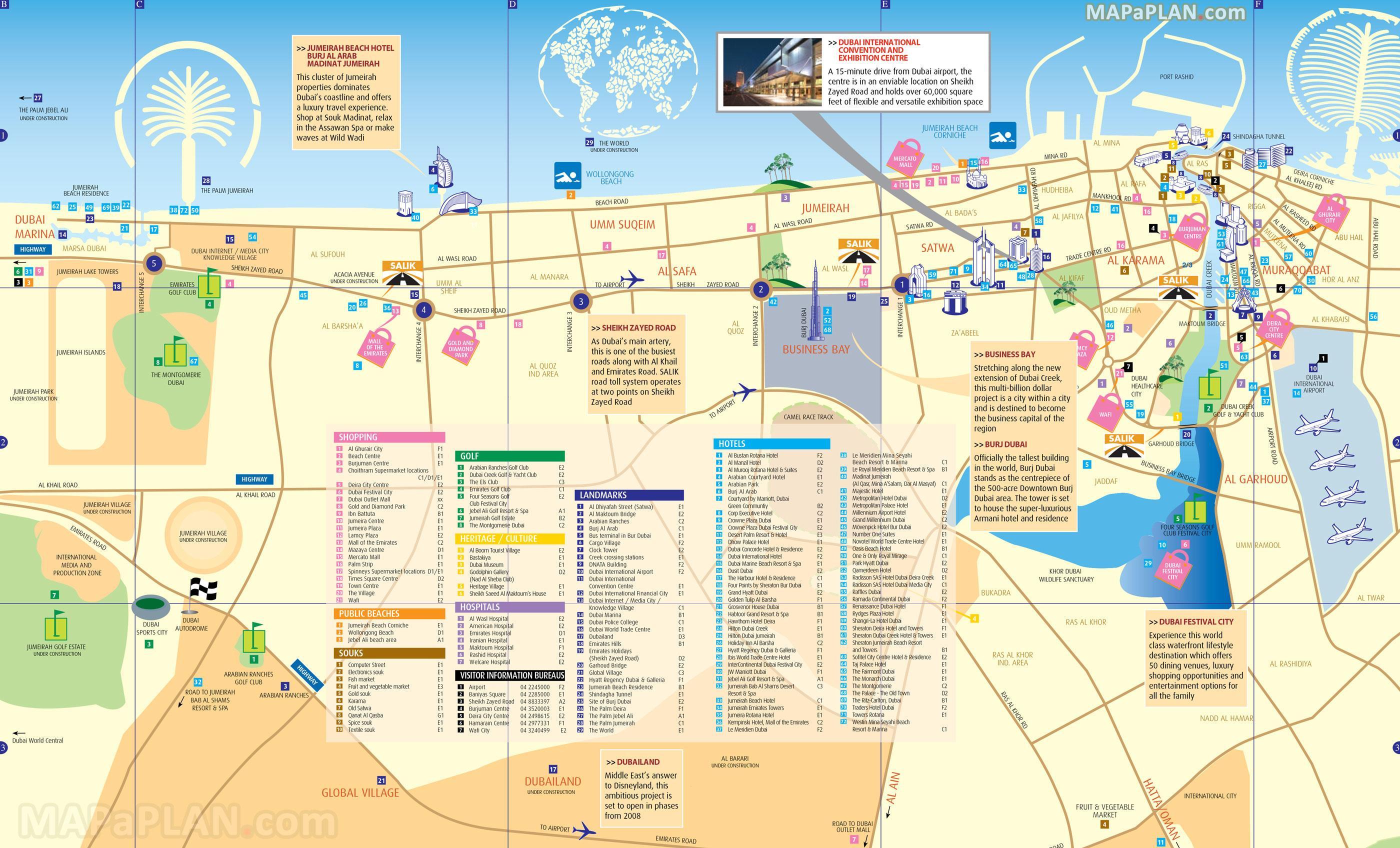 Пляжи дубай на карте показать аренда коттеджа в испании на месяц